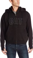 Caterpillar Men's Applique Hooded Sweatshirt