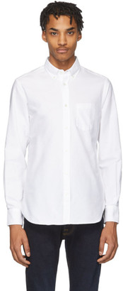 Officine Generale White Antime Oxford Shirt