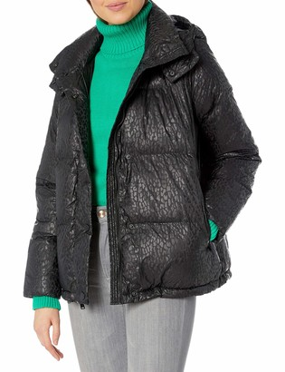 BCBGeneration Women's Puffer Jacket with Hood