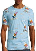 Arizona Short Sleeve Crew Neck Printed T-Shirt