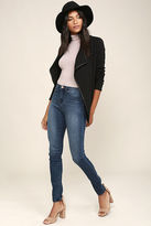 Dittos Kelly Black High-Waisted Skinny Jeans