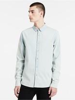 Calvin Klein Jeans Slim Fit Cotton Chambray Shirt