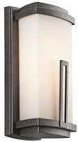 "575 Denim Bonifant 2-Light Outdoor Flush Mount Red Barrel Studio Size / Bulb Type: 12.125"" H x W x 5"" D / Incandescent"