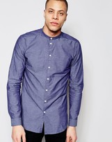 Minimum Grandad Collar Darnell Shirt