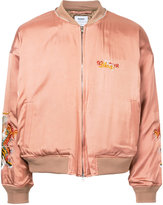 Doublet - embroidered bomber jacket - men - Cupro/Rayon - S