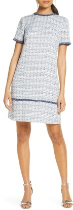 Julia Jordan Tweed Shift Dress