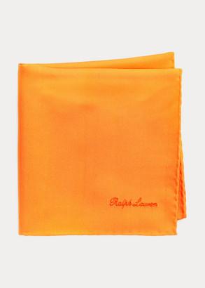 Ralph Lauren Silk Shantung Pocket Square