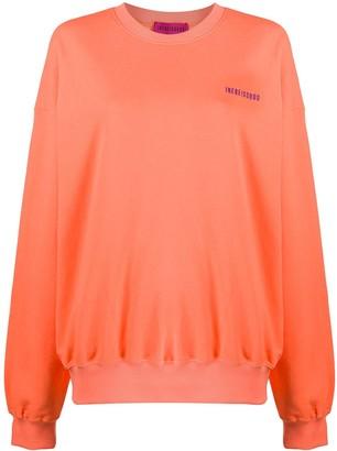 Ireneisgood Embroidered Logo Cotton Sweatshirt