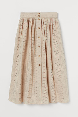 H&M Broderie anglaise skirt