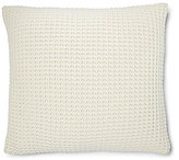 Ralph Lauren Hoxton Collection Miller Waffle-Knit Wool Square Feather Pillow