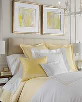 Sferra Full/Queen Embroidered Percale Duvet Cover
