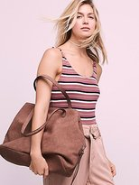 Free People Triple Pocket Slouchy Tote