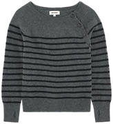 Zadig & Voltaire Mini Me cotton and cashmere sweater