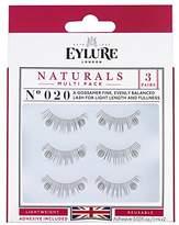 Eylure Fake Eyelash and Adhesives,3 Count
