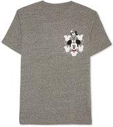 JEM Men's Mickey Mouse Graphic-Print Pocket T-Shirt