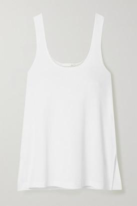 Skin Liza Textured Pima Cotton Tank - White