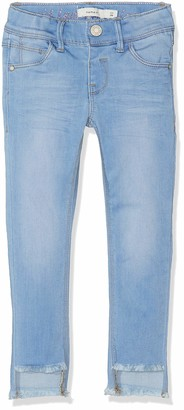 Name It Girl's Nkfpolly Dnmtia 2159 Ankle Pant Noos Jeans