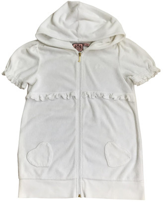 Juicy Couture White Cotton Knitwear