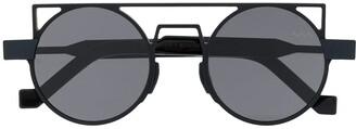 Va Va Round Frame Sunglasses