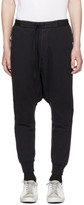 Unravel Black Drop Lounge Pants