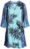 Nic+Zoe Under the Sun Tropical Print Dress