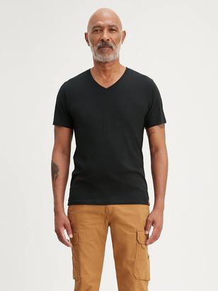 Levi's Slim Fit V-Neck Tee Shirt (2-Pack)