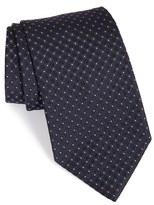 Armani Collezioni Men's Dot Print Silk Tie