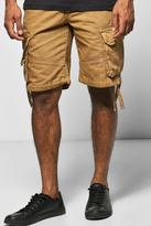 Boohoo Cargo Shorts With Drawcord