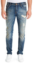 William Rast Marauder Hollywood Distressed Slim Jeans