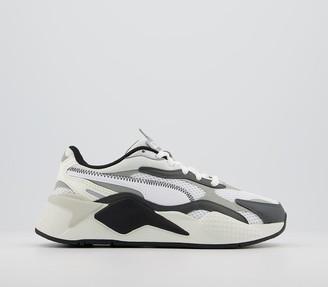 Puma Rs-x3 Millenium Trainers White Black Limestone