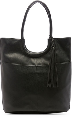 Sole Society Women's Asmin Tote Vegan Leather Tote Black From