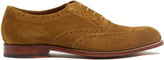 Grenson Luther suede oxford shoes