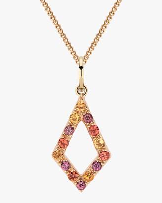 Larkspur & Hawk Fire Lady Caprice Elements Pendant Necklace