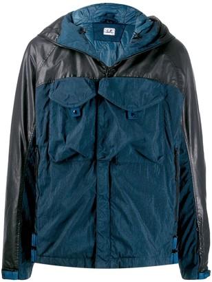 C.P. Company two tone utility-pocket jacket