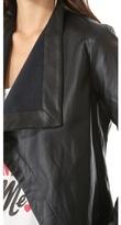 BB Dakota Jasper Drape Front Jacket