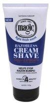 Magic Soft Sheen Carson Regular Fragrant Cream Shave Razorless Beard Remover 6oz