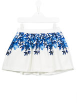 Patachou - floral print skirt - kids - Cotton/Polyester/Spandex/Elastane - 2 yrs