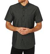 RVCA Curren Stripe Short Sleeve Shirt