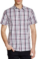 Vince Melrose Plaid Slim Fit Button Down Shirt