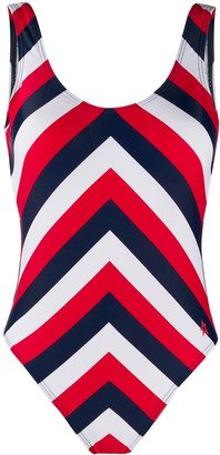 Perfect Moment Chevron one piece