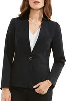 Vince Camuto One-Button Notch-Collar Blazer