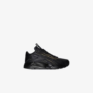 Reebok x Victoria Beckham black Bolton leather sneakers