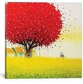 iCanvas 'Golden Season' Giclee Print Canvas Art