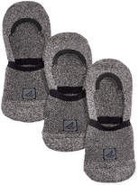 Sperry Athletic Compression Liner Socks 3-Pack