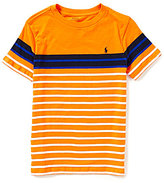 Ralph Lauren Little Boys 5-7 Bold-Stripe Short-Sleeve Tee