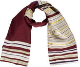 Dries Van Noten Striped Wool Scarf