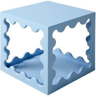 Jonathan Adler Ripple Lacquer Cube