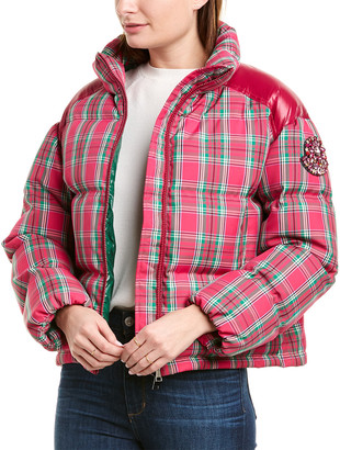 Moncler Plaid Padded Jacket