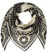 Givenchy Men's White/black Modal Foulard.