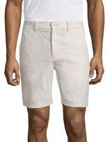 John Varvatos Strech-Linen Shorts